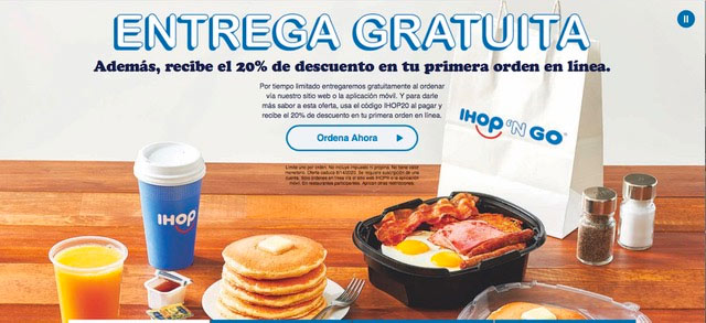Client: IHOP - Free Delivery Website Landing Page | 7th Art